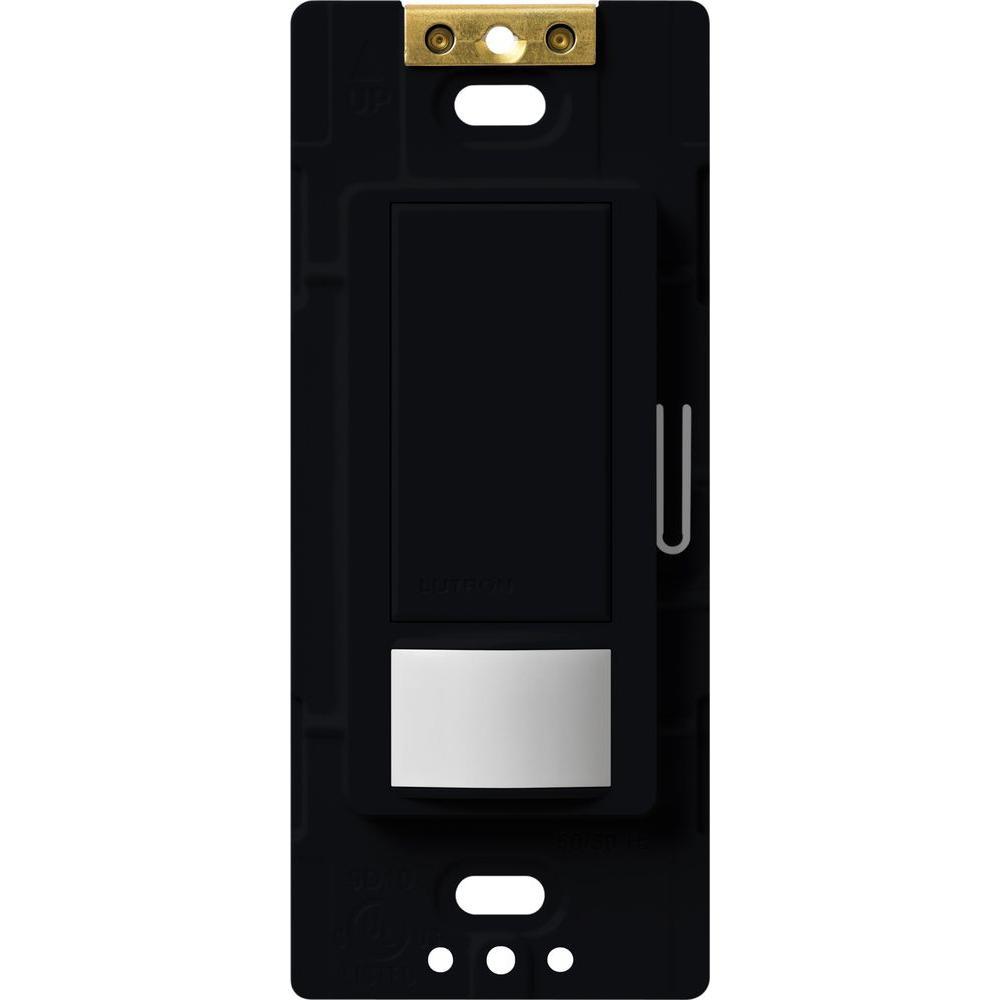 Maestro Motion Sensor switch, 5-Amp, Single-Pole or Multi-Location, Black