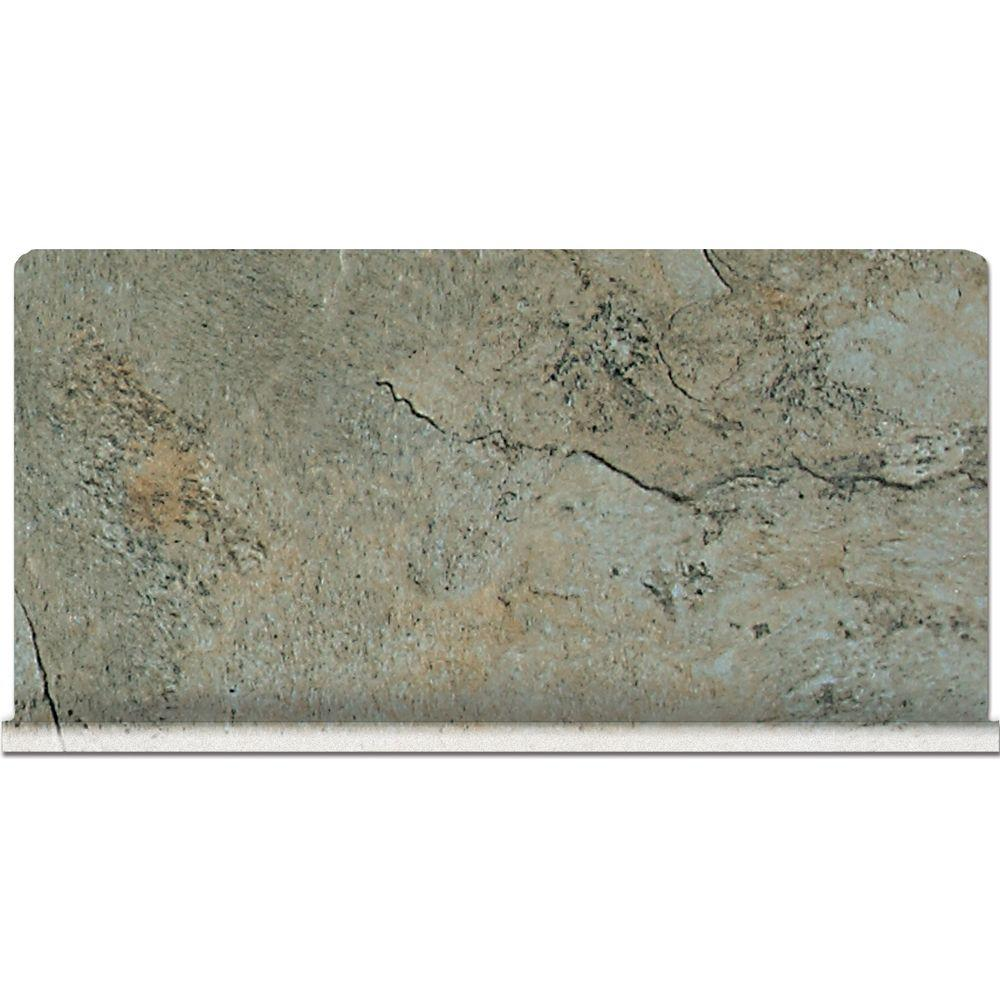 Franciscan Slate Coastal Azul 6 in. x 12 in. Glazed Porcelain