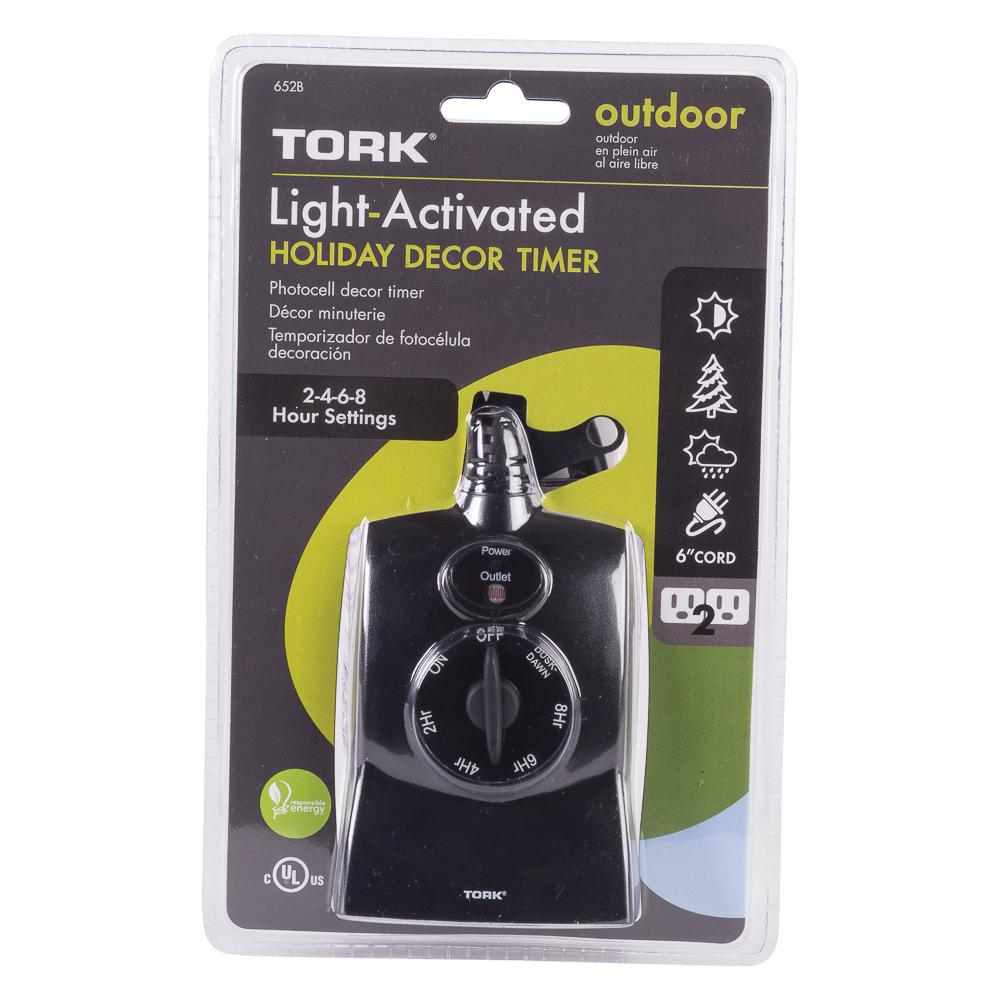 Tork 15 amp light activated outdoor dusk to dawn and countdown timer tork 15 amp light activated outdoor dusk to dawn and countdown timer with 2 grounded workwithnaturefo