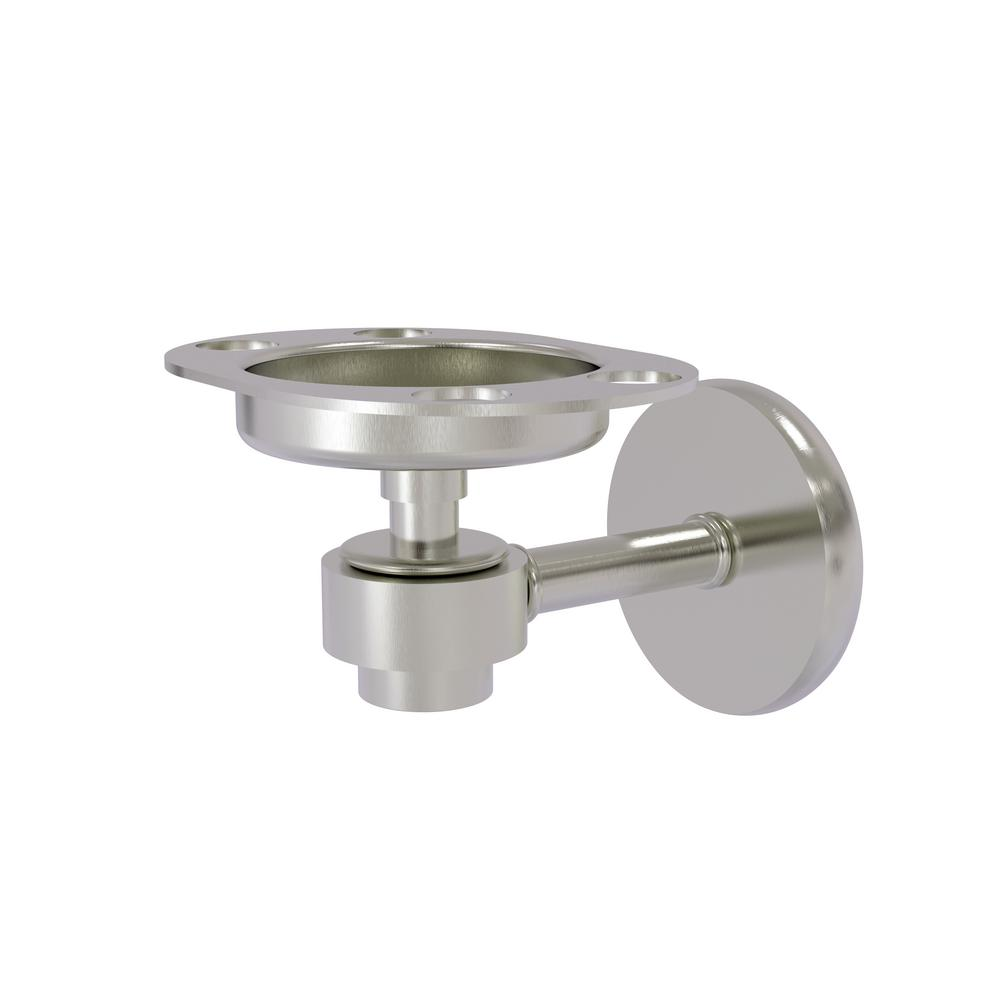 Satellite Orbit 1-Tumbler and Toothbrush Holder in Satin Nickel