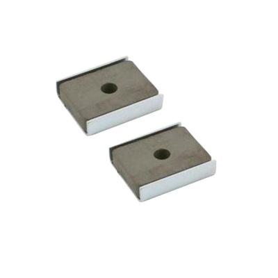 7 lb. Zinc Pull Latch Magnets (2-Piece per Pack)