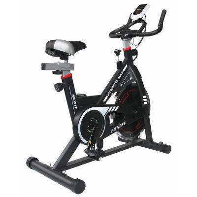 Indoor Fitness Cycling Bike in Black