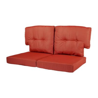 Quarry Red Replacement Cushion for the Martha Stewart Living Charlottetown Outdoor Loveseat