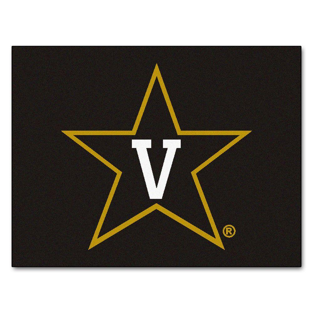 FANMATS Vanderbilt University 2 ft. 10 in. x 3 ft. 9 in. All-Star Rug