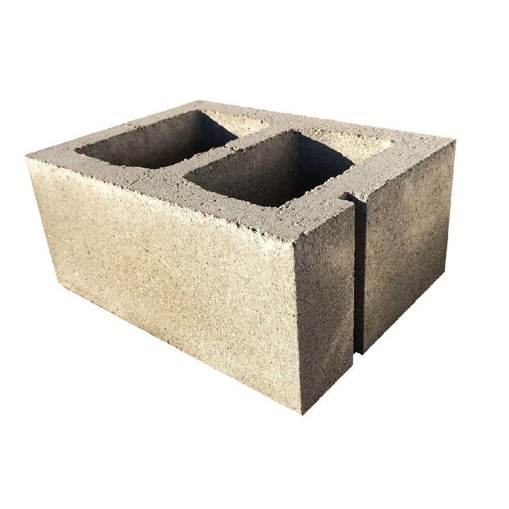 12 in. x 8 in. x 16 in. Concrete Block