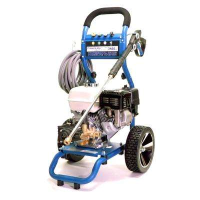 Dirt Laser 3400 PSI 2.5 GPM Gas Cold Water Pressure Washer Honda Engine