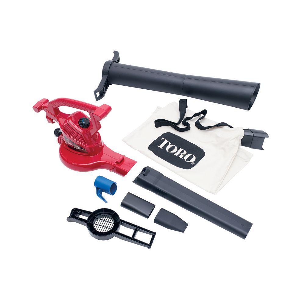 Toro Ultra 250 MPH 350 CFM Electric 12 Amp Blower/Vacuum/...