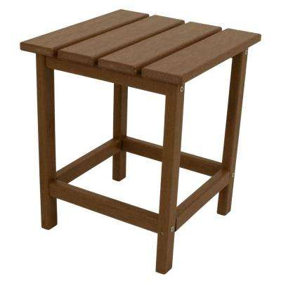 Teak Outdoor Side Tables Patio Tables The Home Depot - Teak outdoor end table
