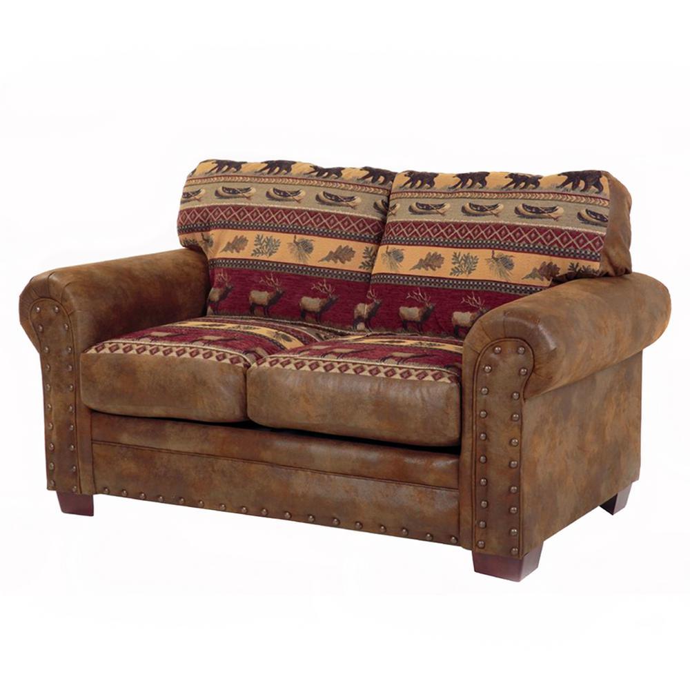 American Furniture Classics Sierra Lodge Microfiber And