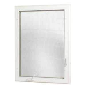 Tafco windows 36 in x 48 in left hand vinyl casement for Vinyl insulated windows