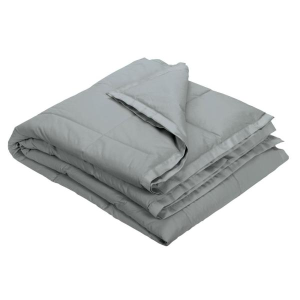 The Company Store Lacrosse Silver Down Throw Ko72 Os Silver The