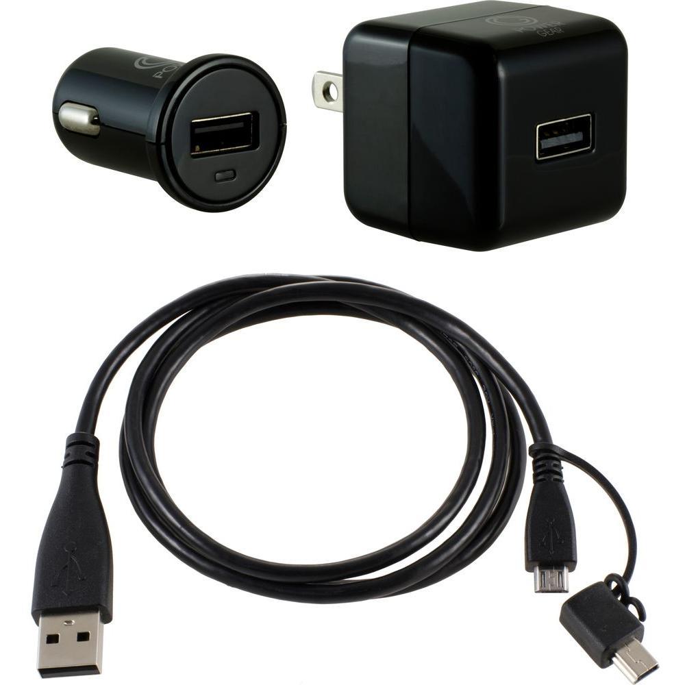USB to Micro/Mini Charging Kit