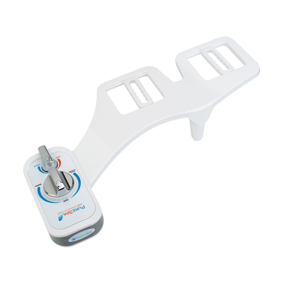 PureSpa Dual Temperature Non-Electric Bidet Attachment in White