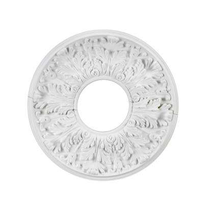 16 in. White Ceiling Medallion (2-Piece)