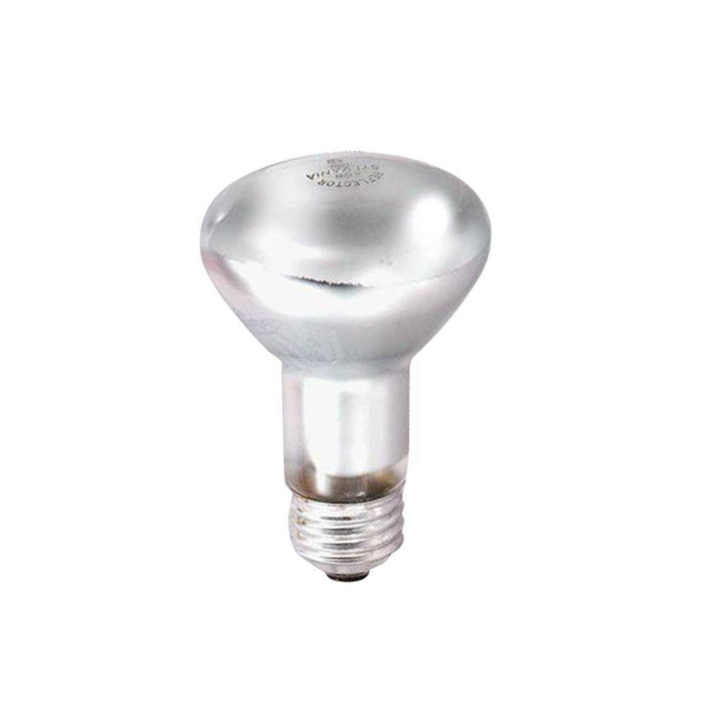 Sylvania 45-Watt R20 130-Volt Incandescent Inside Frost Flood Light Bulb (6-Pack)