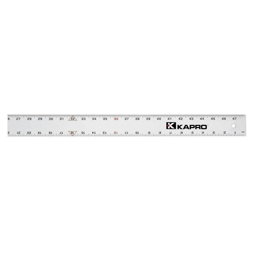 Ludwig Precision Aluminum Straight Edge 81048 48-INCH