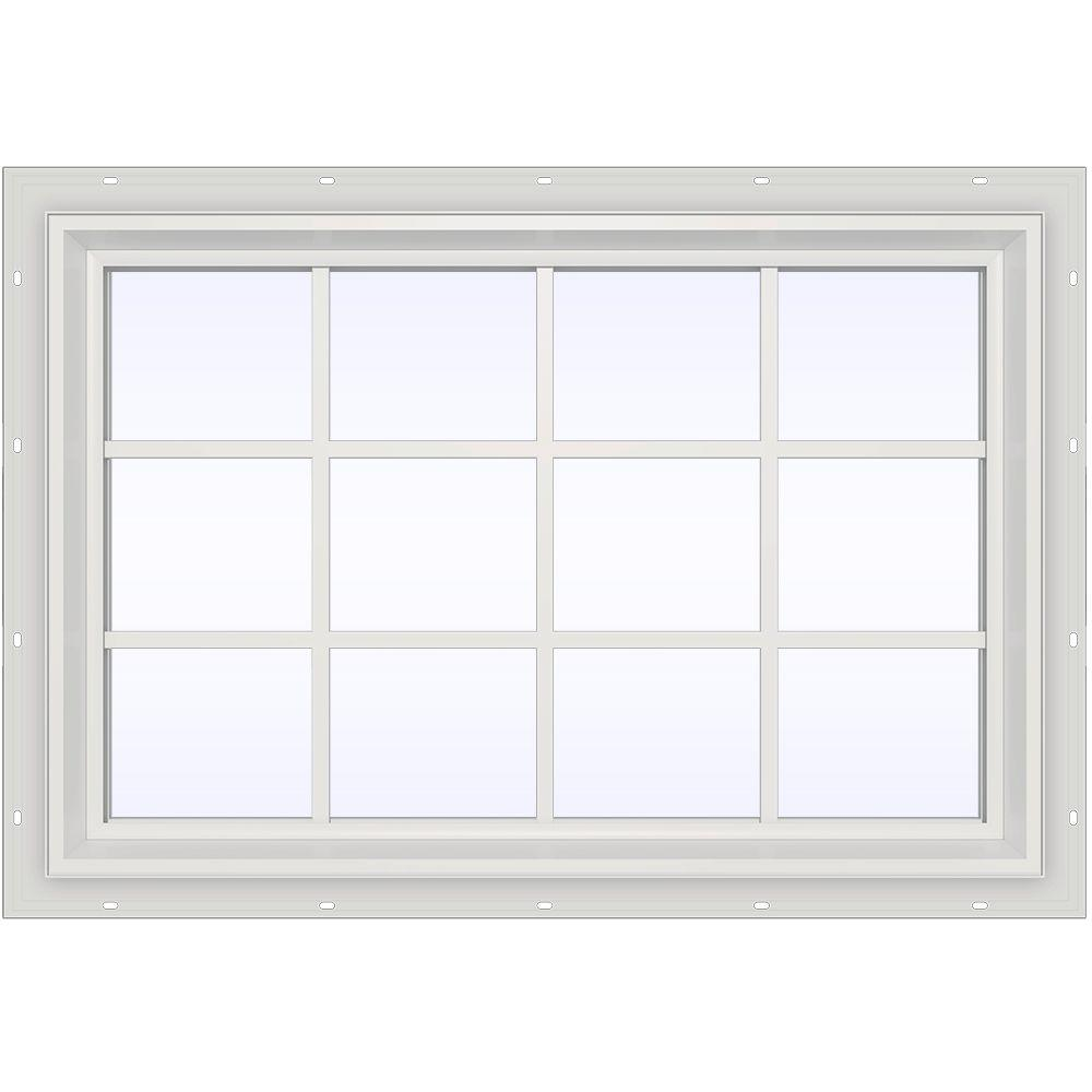 Jeld Wen 47 5 In X 35 5 In V 2500 Series Fixed Picture