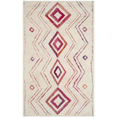 Casablanca Ivory/Multi 5 ft. x 8 ft. Area Rug