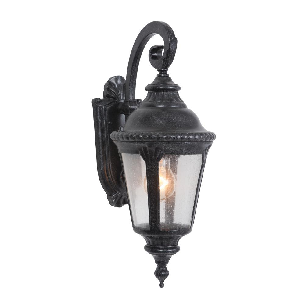 Yosemite Home Decor Columbus Collection 1 Light Stone Outdoor Wall Mount Lamp 7201st 1s The