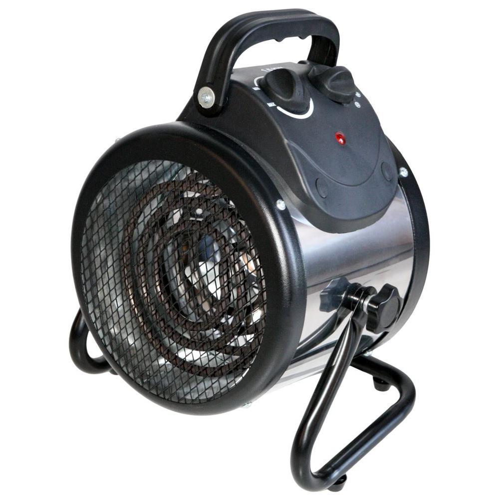 Ventamatic Ventamatic HeTR 1500-Watt Convection Electric Portable Fan Heater, Silver