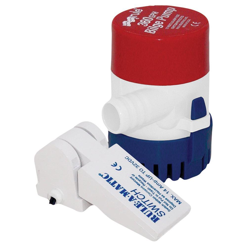 360 GPH Bilge Pump with Switch