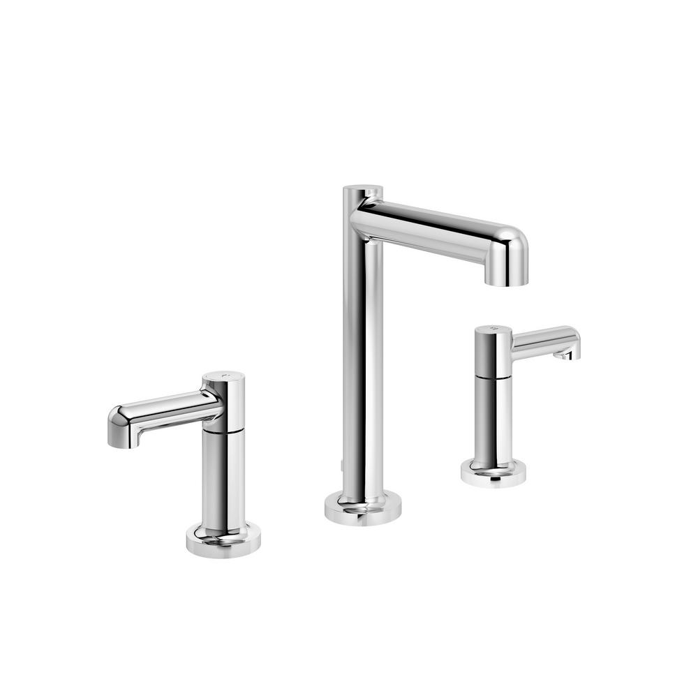 Museo 8 in. Widespread 2-Handle Bathroom Faucet with Pop-Up Drain Assembly