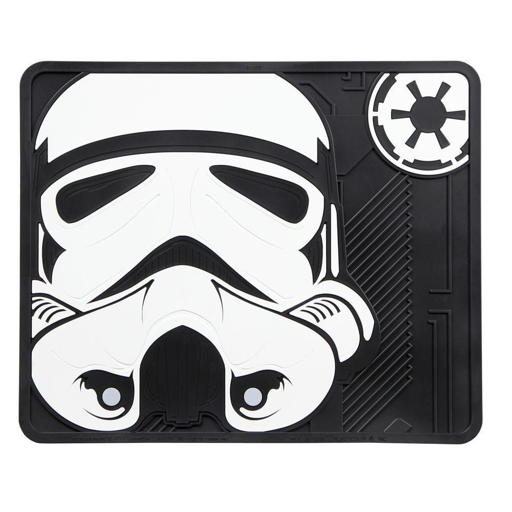 Star Wars Stormtrooper Heavy-Duty 17 in. x 14 in. Vinyl Utility Car Mat