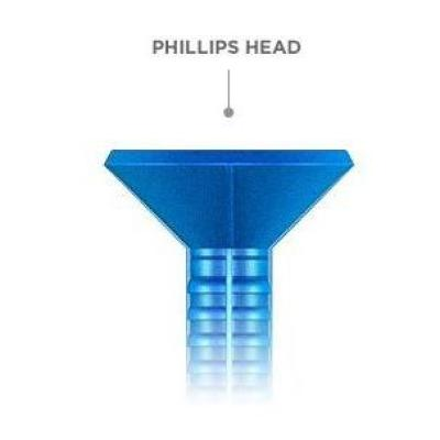 3/16 in. x 1-3/4 in. Phillips-Flat-Head Concrete Anchors (75-Pack)