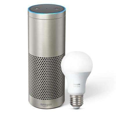 Echo Plus and Philips Hue Bulb, Silver