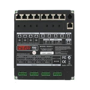Leviton Hi-Fi 4-Zone 4-Source Amplifier Only with Power Supply by Leviton