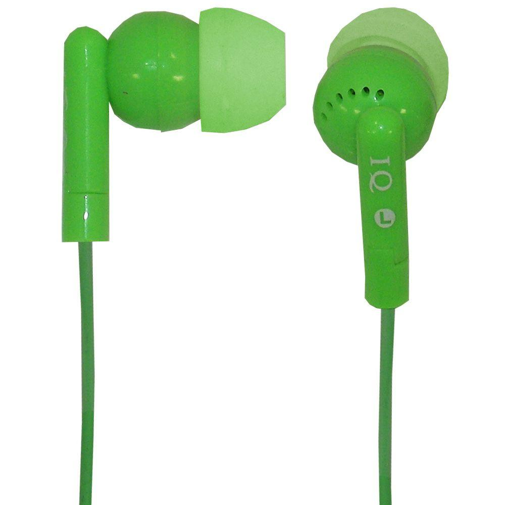 Supersonic Digital Noise Reduction Stereo Earphone - Green