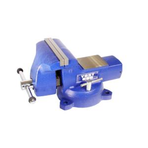 8 inch Yost Combination Pipe and Bench Mechanics Vise with Swivel Base by