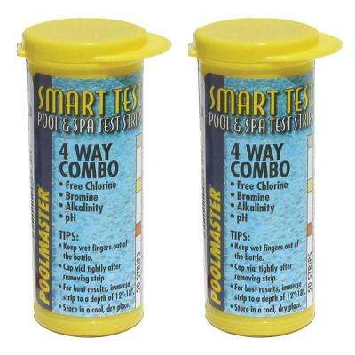 Pool 4-Way Test Strips (2-Pack)