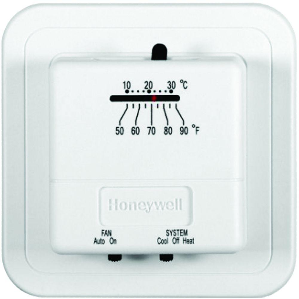 Economy Heat/Cool Manual Thermostat