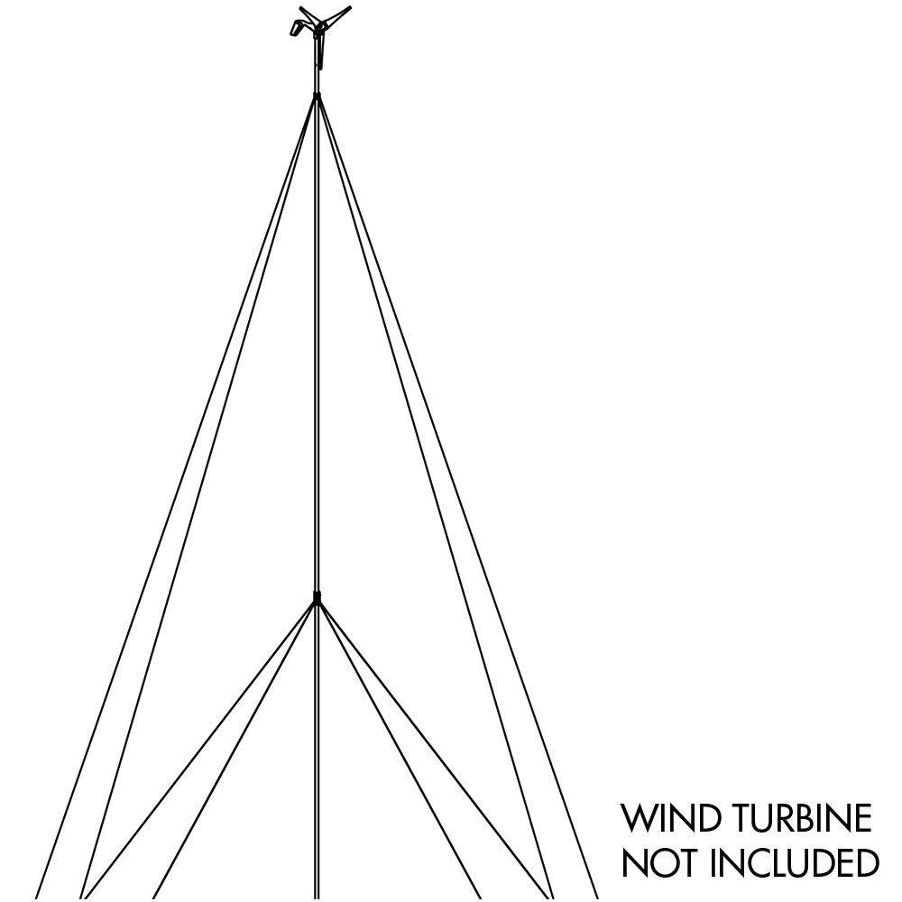 Sunforce 30 ft. Wind Turbine Tower Kit