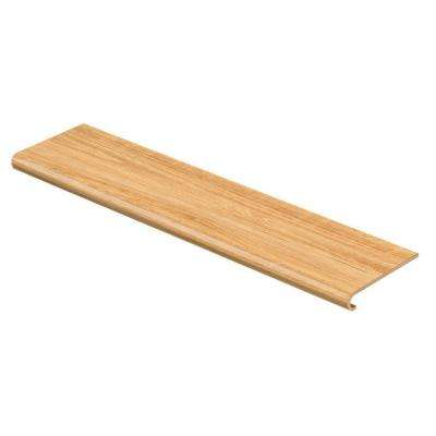 Blond Maple 94 in. Long x 12-1/8 in. Deep x 1-11/16 in. Height Vinyl to Cover Stairs 1 in. Thick