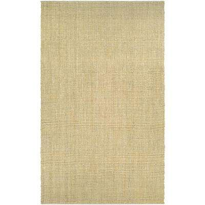 Ambary Grasscloth Sand 8 ft. x 11 ft. Area Rug