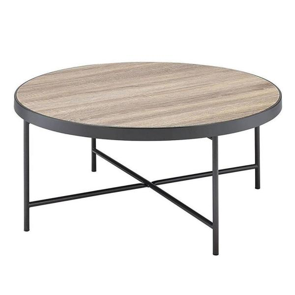 Amelia 15.75 in. Weathered Gray Oak Coffee Table