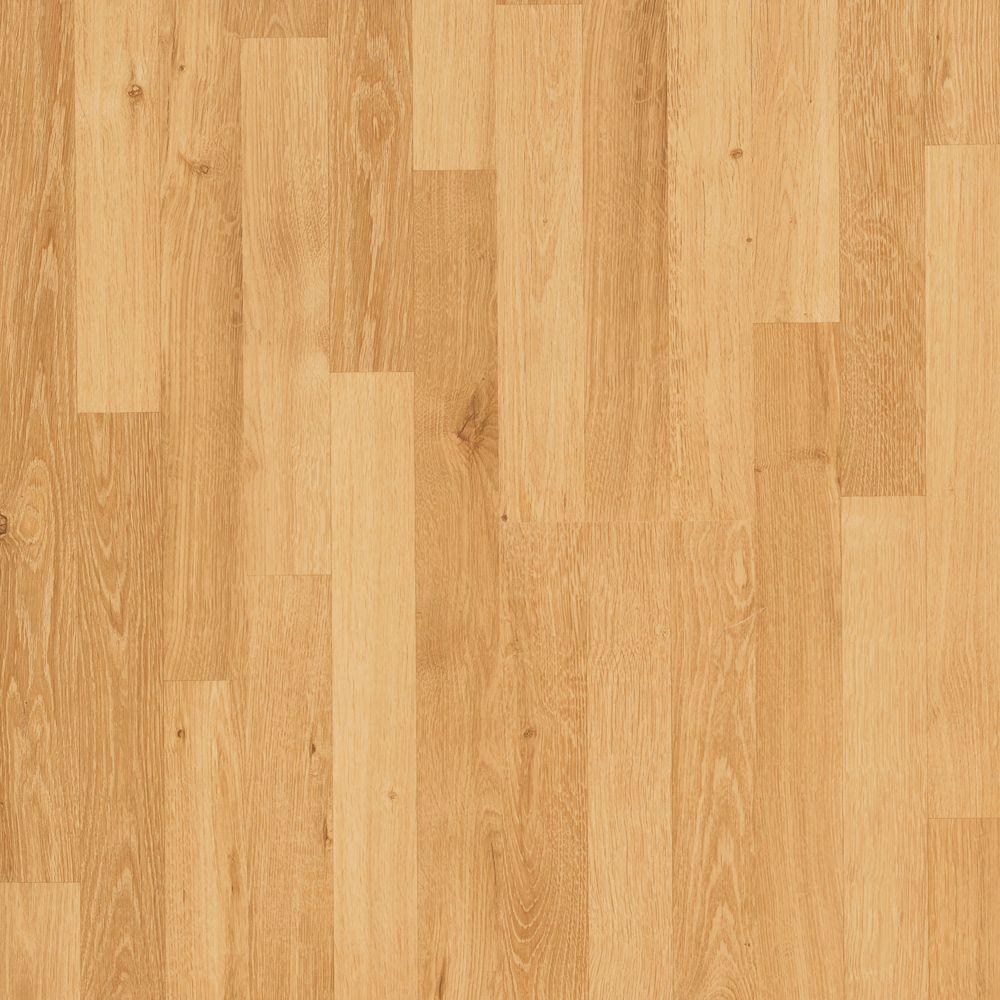 Mohawk Fairview Natural Oak Laminate Flooring - 5 in. x 7 in. Take Home Sample