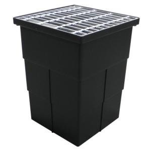 U.S. Trench drain 18 inch x 14 inch Storm Water Pit and Catch Basin for Modular... by U.S. Trench drain