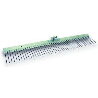 48 in. Flat Wire Texture Broom with 7/8 in. Spacing