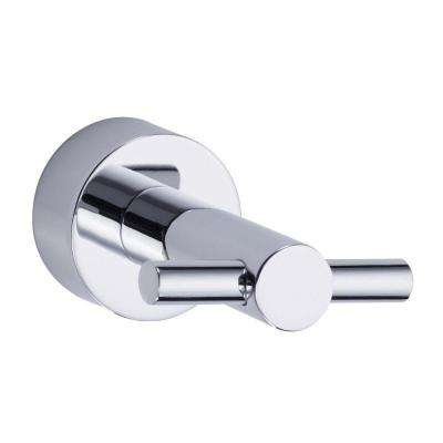 Parma Double Robe Hook in Chrome