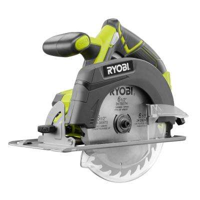 18-Volt ONE+ Cordless 6-1/2 in. Circular Saw (Tool Only)