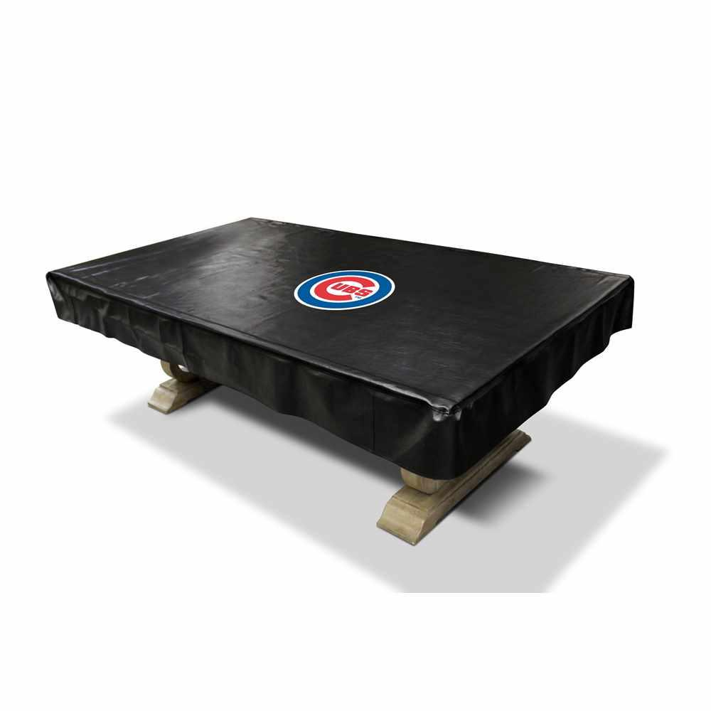 Chicago Cubs 8 Ft. Deluxe Pool Table Cover