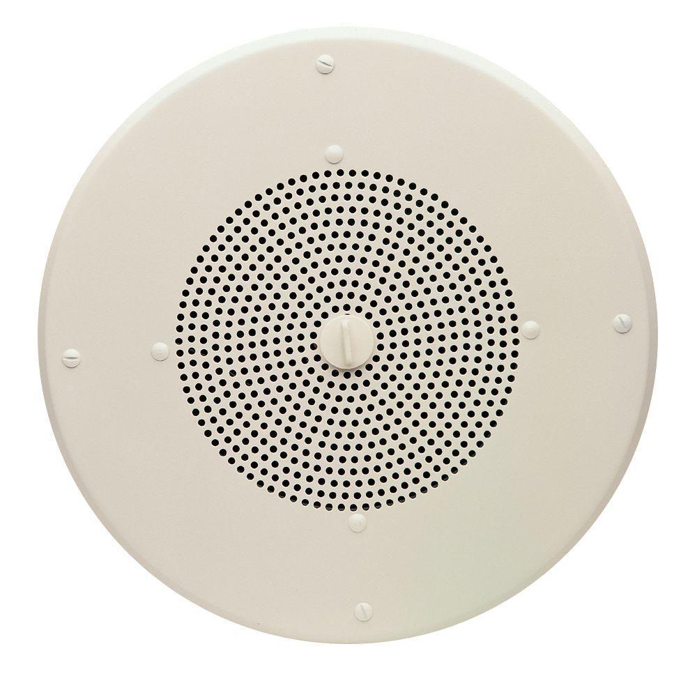 Valcom 8 In 1 Way Ceiling Speaker Vc V 1020c The Home Depot Wiring Up Speakers