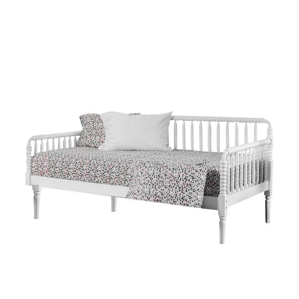 - William's Home Furnishing Linda Twin Daybed In White-CM1741WH-BED