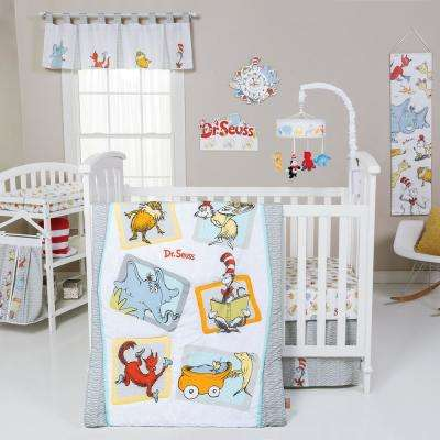 Dr. Seuss Friends 5-Piece Crib Bedding Set