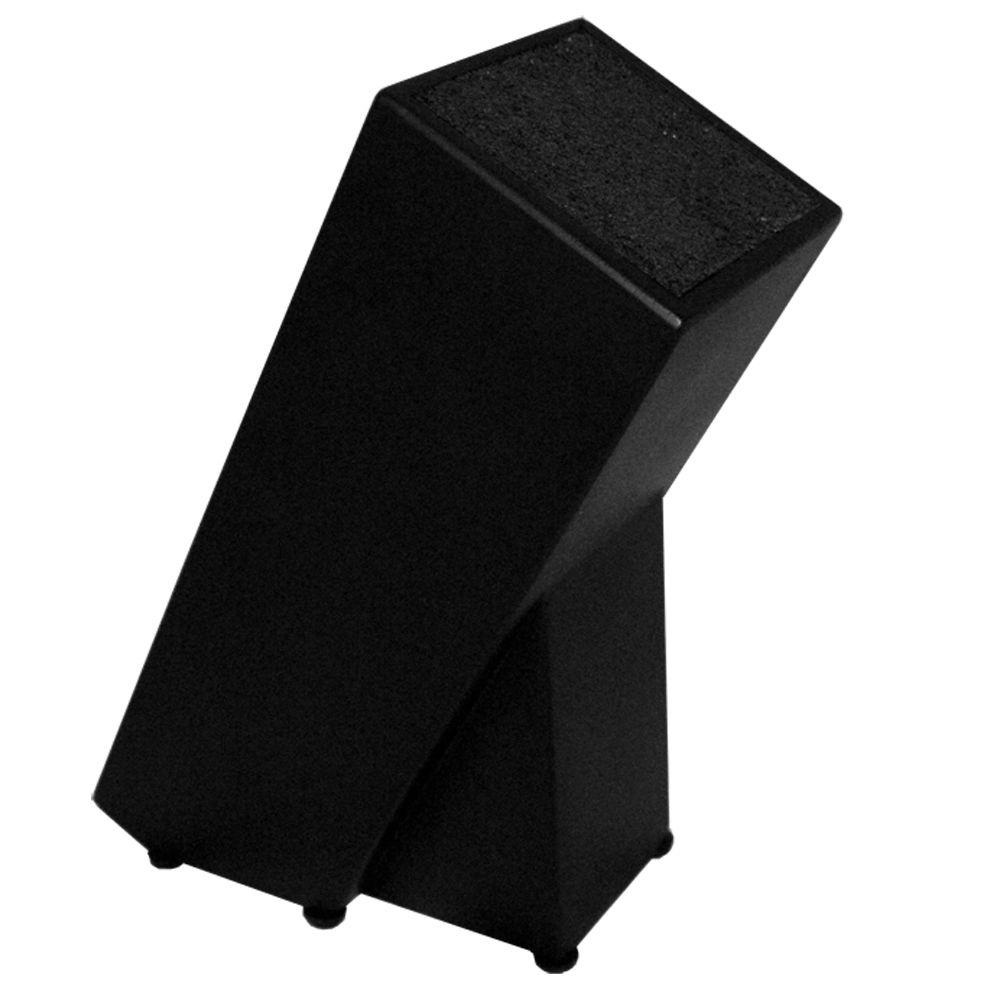 Kapoosh 654BK The Brunoise Knife Block in Black-DISCONTINUED