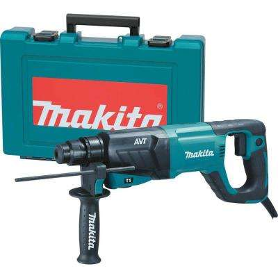 8 Amp 1 in. Corded SDS-Plus Concrete/Masonry AVT (Anti-Vibration Technology) Rotary Hammer Drill with Handle Hard Case