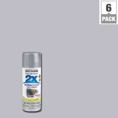 11 oz. Aluminum General Purpose Spray Paint (6-Pack)